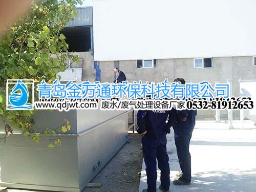 气浮设备案例【出口塞尔维亚】-青岛金万通环保科技有限公司
